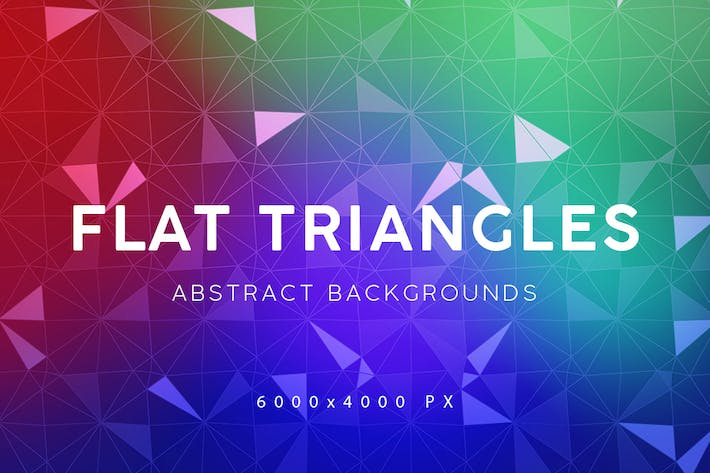 Thumbnail for Flat Triangle Backgrounds