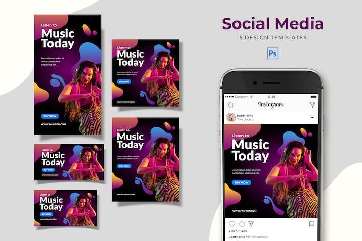 Thumbnail for Music Social Media