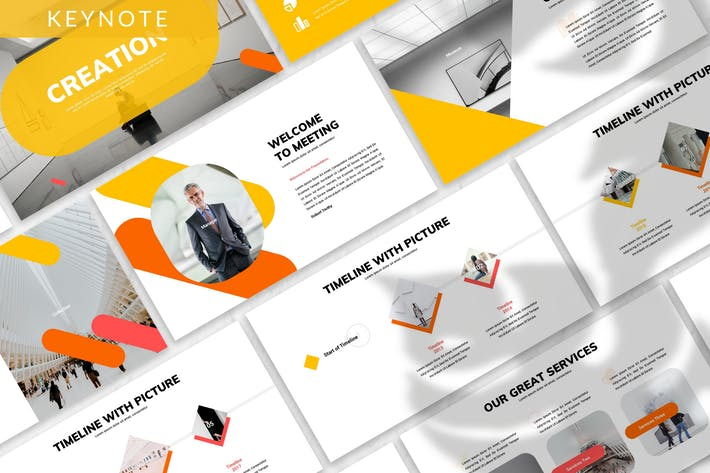 Thumbnail for Creation - Business Keynote Template