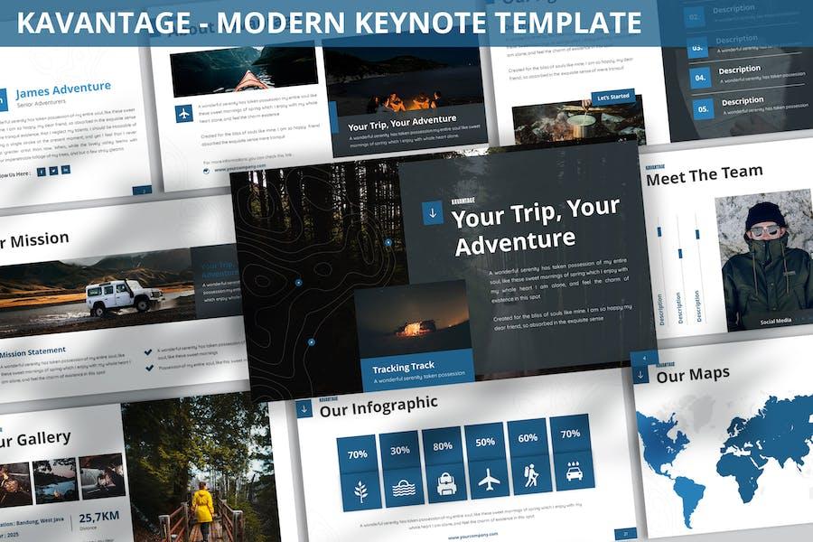 Kavantage - Modern Keynote Template