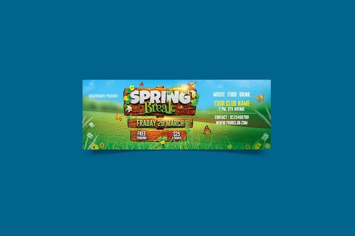 Spring Breack FB Cover