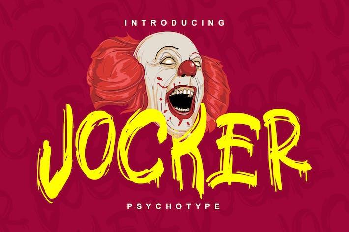 Thumbnail for Jocker | Psychotype Font Theme