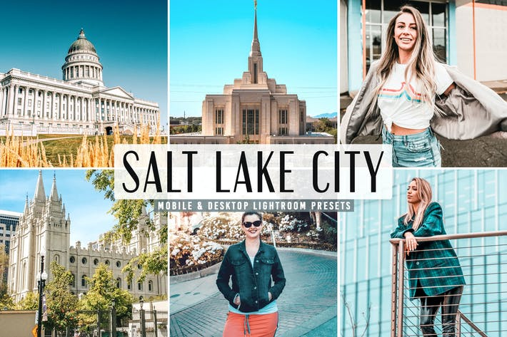 Thumbnail for Salt Lake City Mobile & Desktop Ajustes preestablecidos de Lightroom