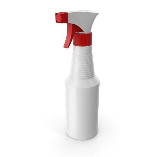 Botella de pulverización para limpieza