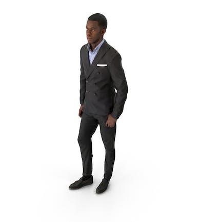 Hombre de negocios de primavera