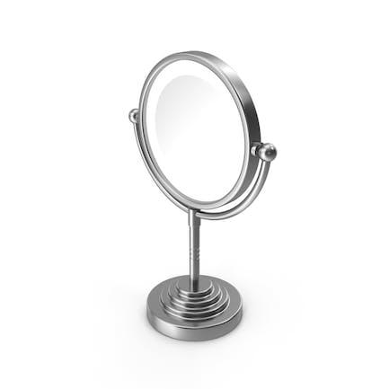 Round Magnifying Led Illuminated Bathroom Mirrors