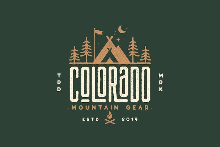 Thumbnail for Colorado Mountain Gear, Camping, Outdoor Logo