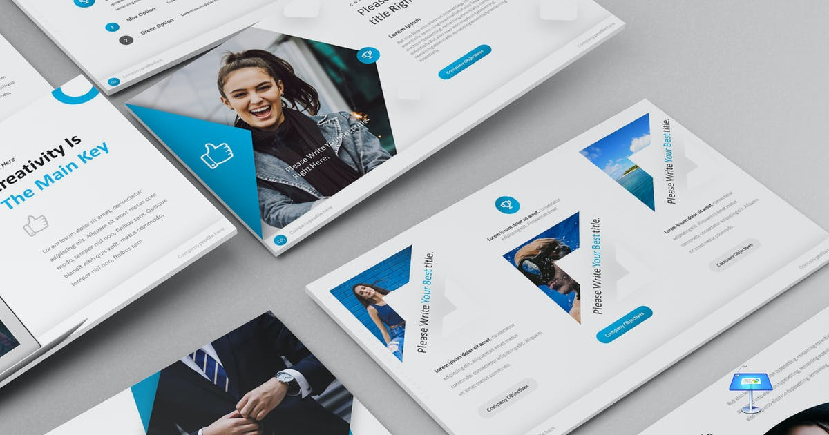 Download Milley - Keynote Template by aqrstudio