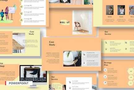 Развертывание маркетингового продукта PowerPoint