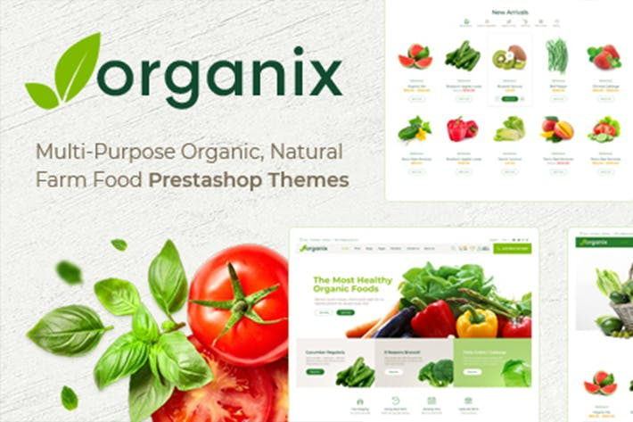 Thumbnail for Themes Organix Responsive Prestashop 1.7