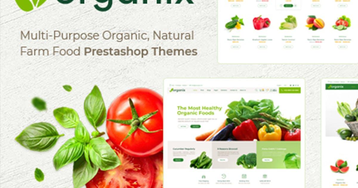 Download Themes Organix Responsive Prestashop 1.7 by labertheme