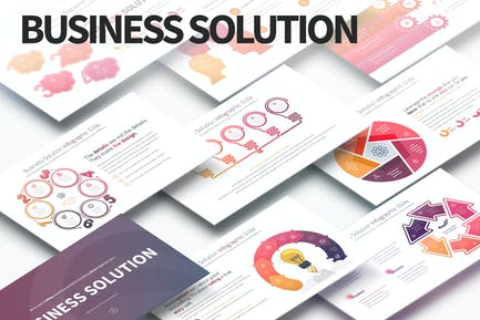 Business Solution - PowerPoint Infographics Slides
