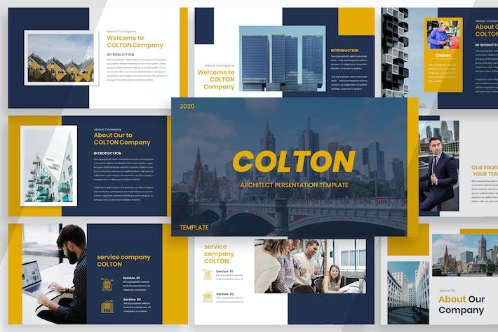Колтон - Архитектор Google Слайд
