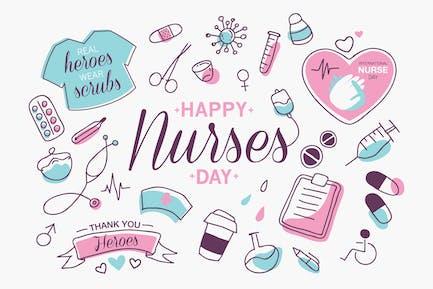 Heroische Krankenschwester