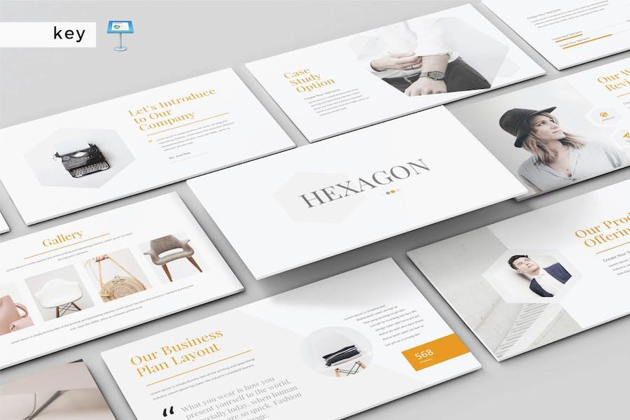 HEXAGON - Multipurpose Keynote Template V164