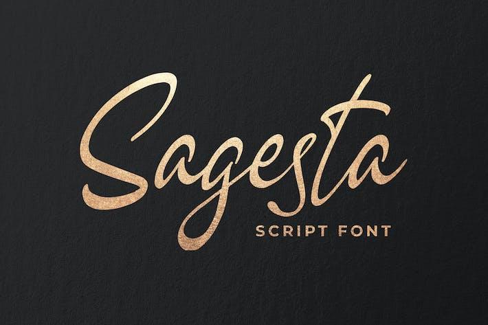 Sagesta - Luxury Script Font