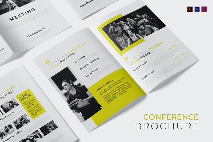 Thumbnail for Conference Meeting Brochure