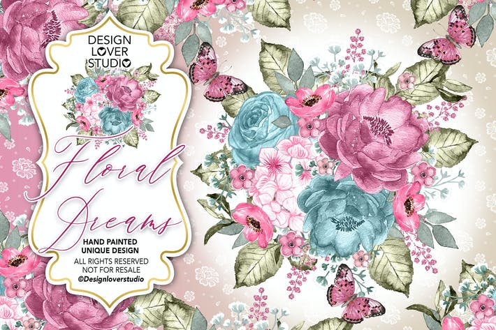Thumbnail for Floral Dreams design