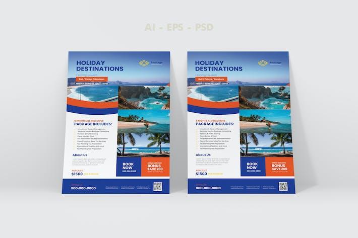 Thumbnail for Travel Flyer Design