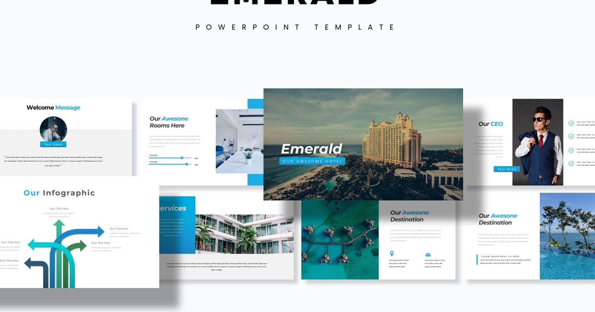 Download Emerald - Powerpoint Template by aqrstudio