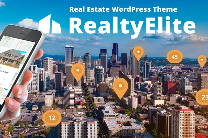 Thumbnail for RealtyElite - Real Estate WordPress Theme