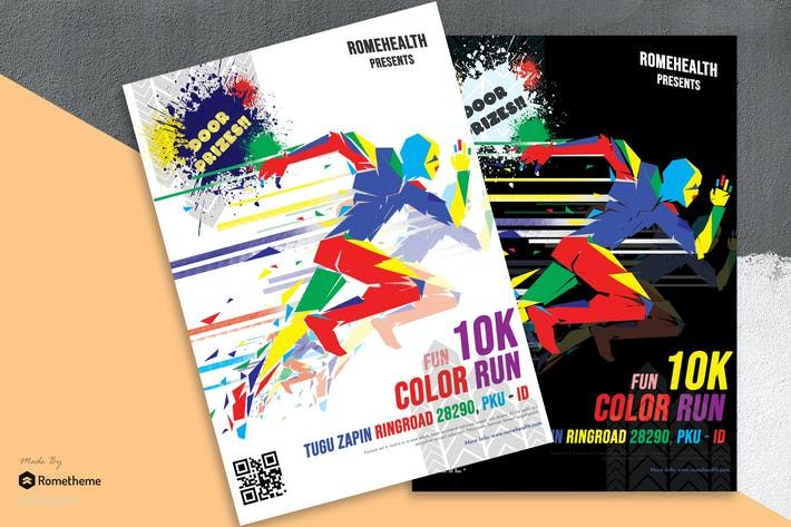 Thumbnail for Color Run Flyer vol.1