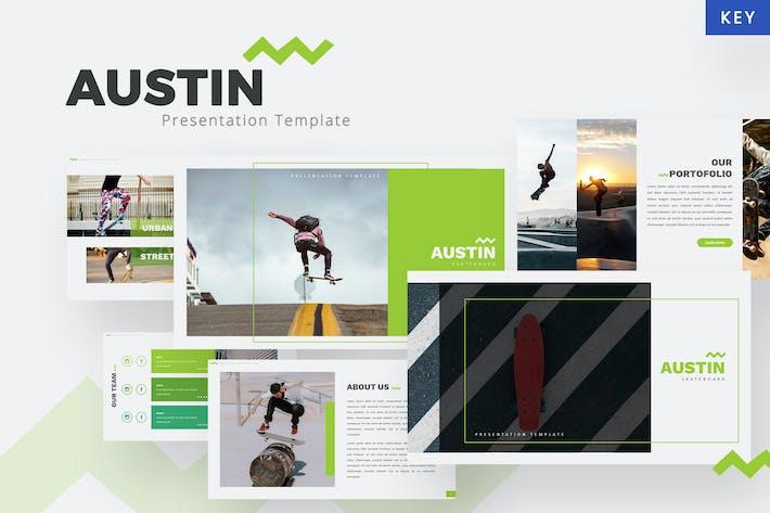 Thumbnail for Austin - Skateboard Keynote Template