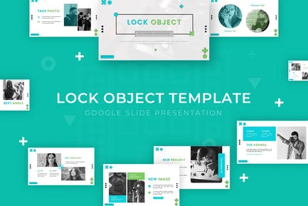 Lock Object - Google Slide Template