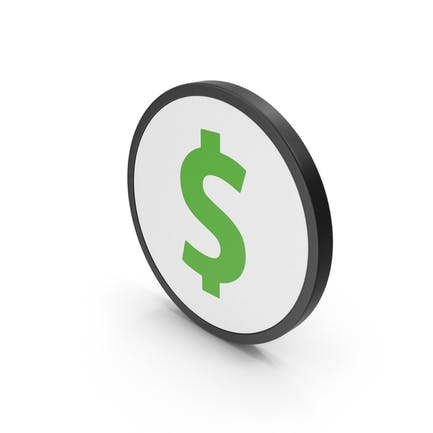 Green Icon Dollar