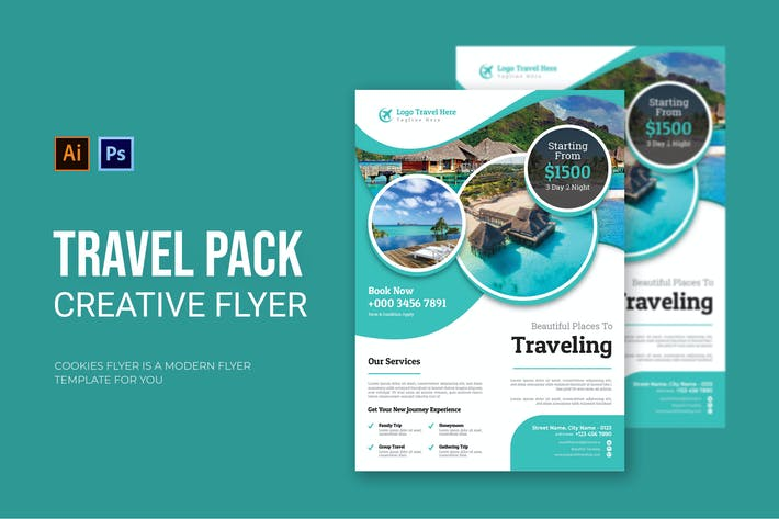 Travel Package - Flyer