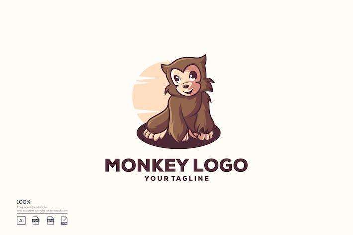 Thumbnail for Logo de singe mignon