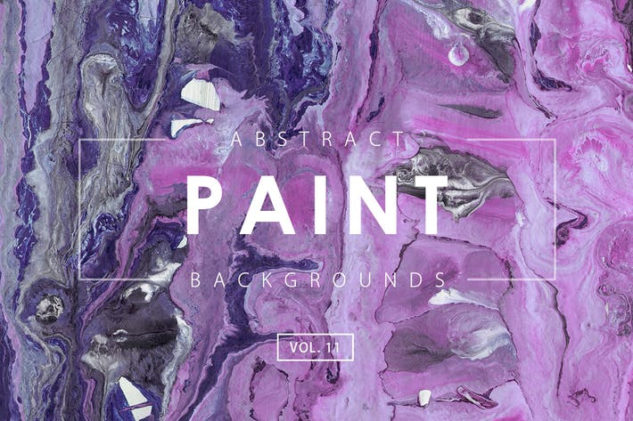 Thumbnail for Abstract Paint Backgrounds Vol. 11