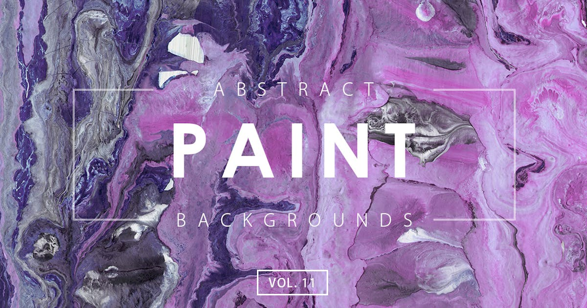 Abstract Paint Backgrounds Vol. 11 by M-e-f