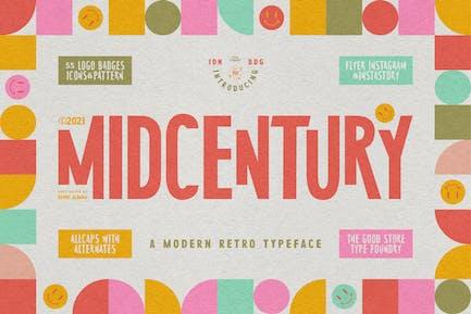 MidCentury Typeface