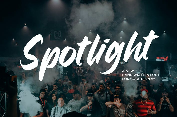 Spotlight - Fuente manuscrita casual