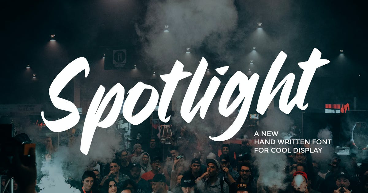Download Spotlight - Casual Handwritten Font by Slidehack