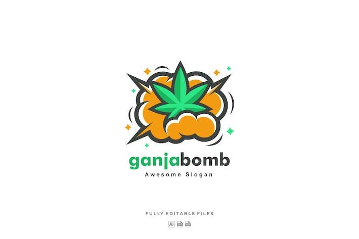 Thumbnail for Ganja Bomb Color Logo