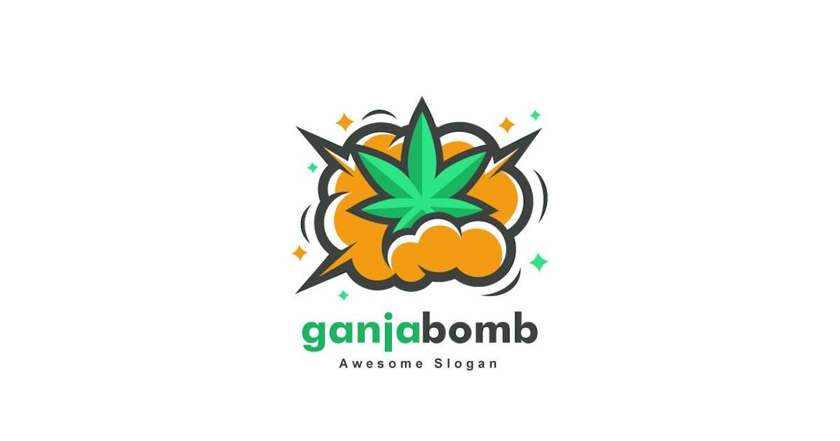 Download Ganja Bomb Color Logo by ivan_artnivora