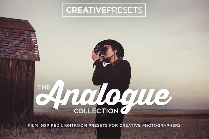 Cover Image For Analogue Film Lightroom Presets