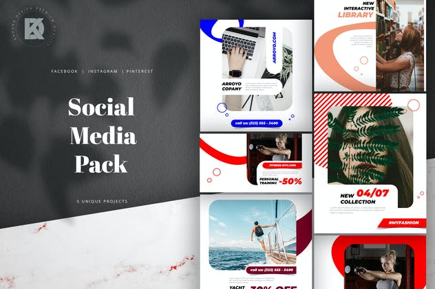 Social Media Pack - product preview 5