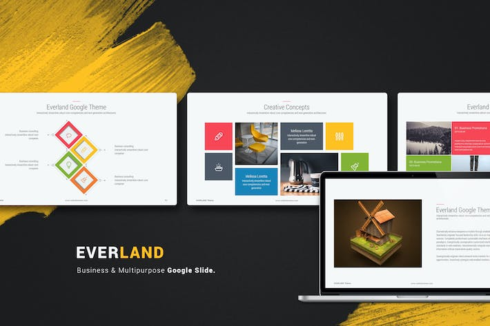 Thumbnail for Everland Multipurpose & Creative Google Slide