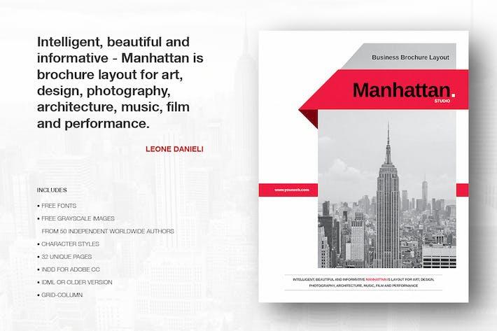 Thumbnail for Manhattan Business Brochure