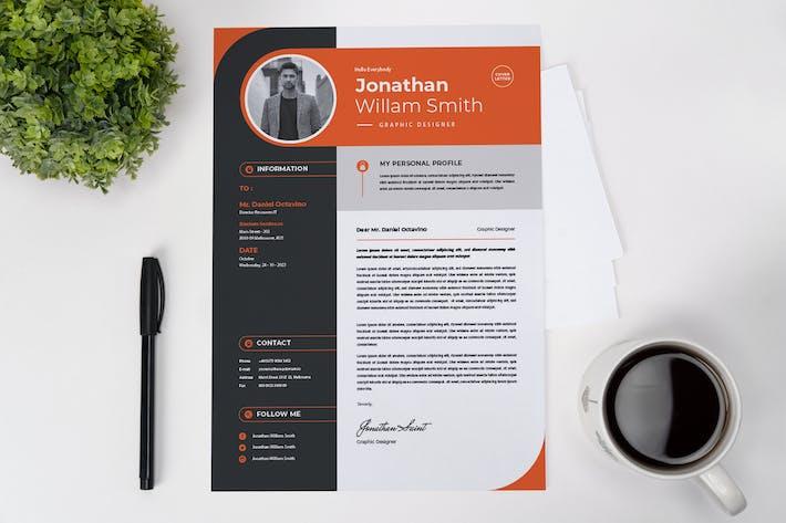 Professional Designer CV Resume