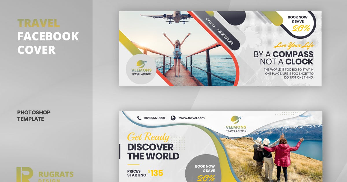 Download Travel R1 Facebook Cover Template by youwes