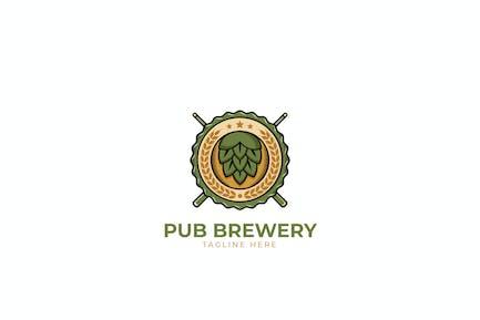 Pub Brewery Logo Template