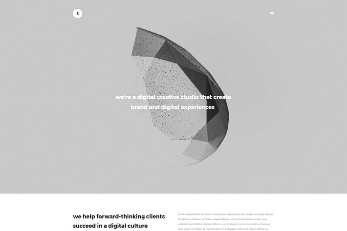 Thumbnail for Sima - Minimal Portfolio WordPress Theme