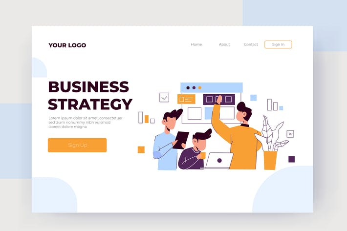 Thumbnail for Business Strategy  - Vector Illustration
