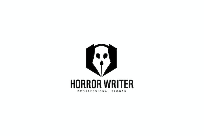 Thumbnail for Horror Writer Pen Logo