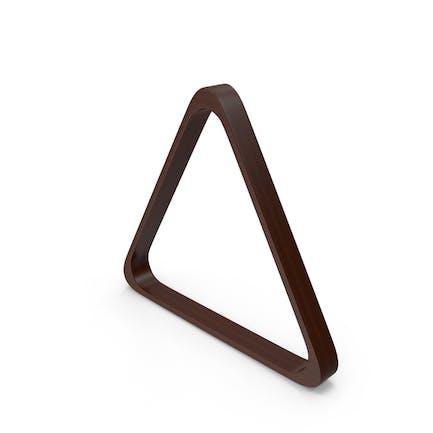 Triangle Billardständer