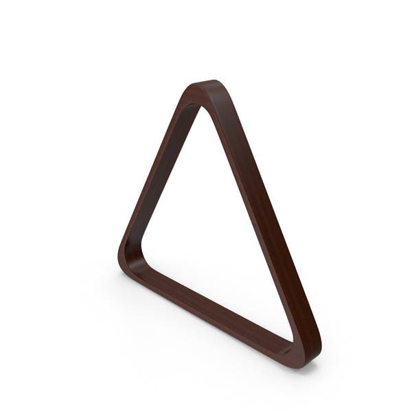 Triangle Billiards Rack